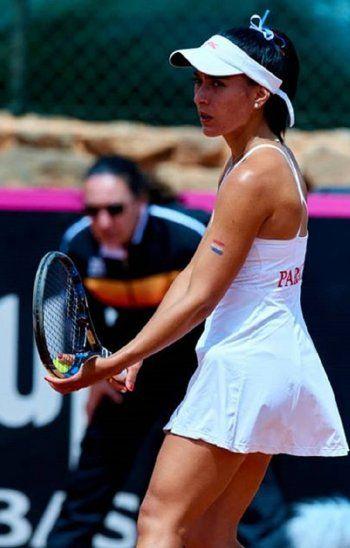 Verónica Cepede jugará mañana ante Ana Bogdan.