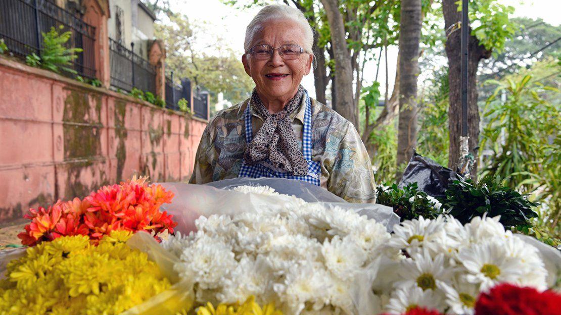 Rosalía, la bella flor de Recoleta