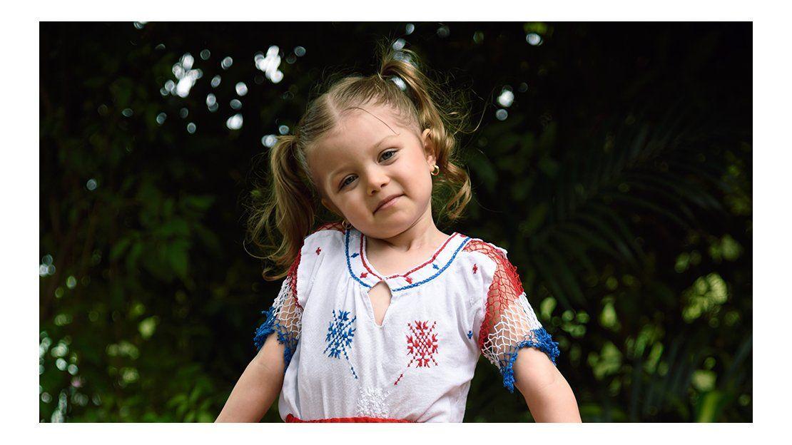 India, la niña que enternece las redes, pasó su cumple con TVO