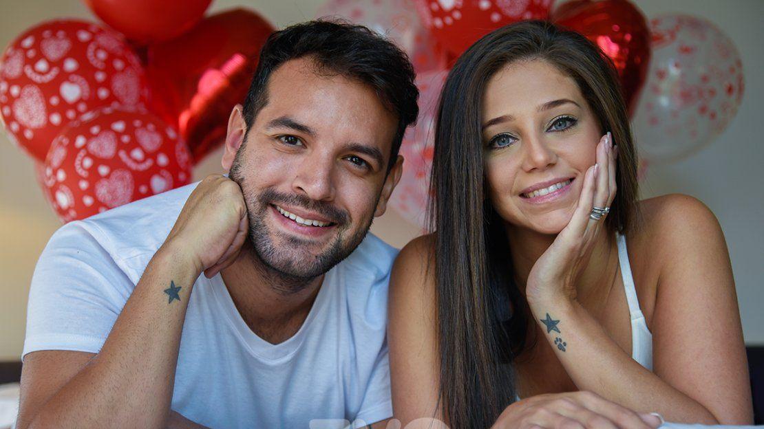 Óscar Pintos y Paola Alonso: el amor que nació con una torta de chocolate