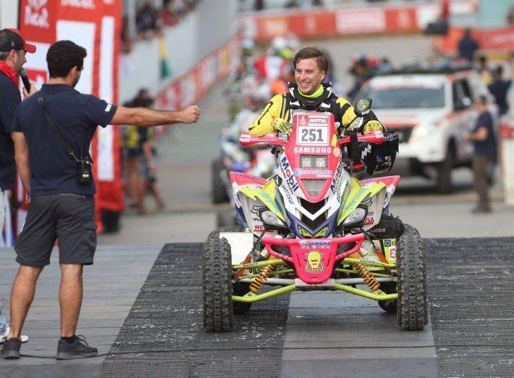Un Dakar más para el paraguayo Nelson Sanabria.