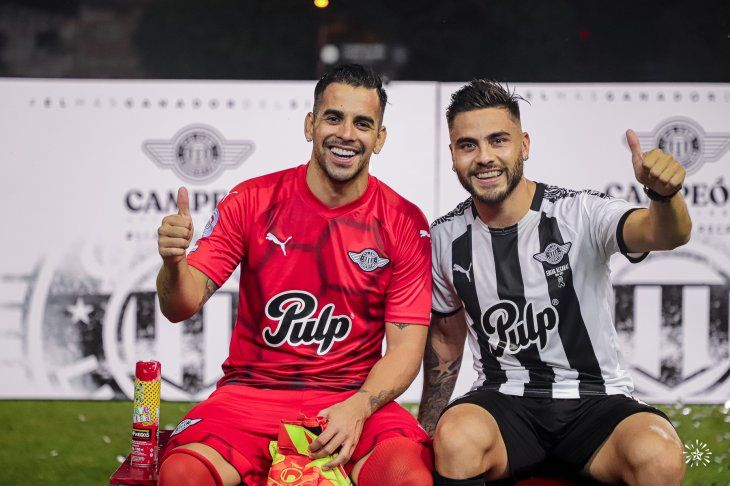 Cristian Javier Báez y Héctor Villalba