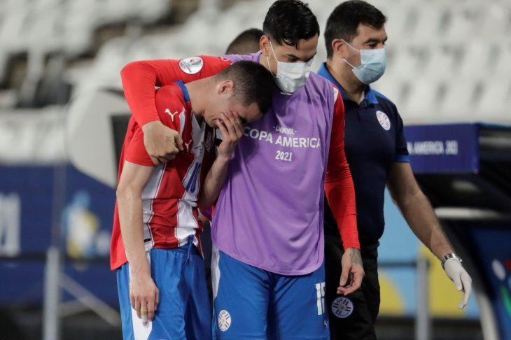 El dolor. Miguel Almirón