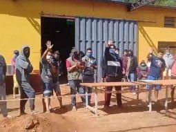 La Escuela de Policía de Coronel Oviedo es el único albergue habilitado en el Departamento de Caaguazú, por el momento, para recibir a los paraguayos que llegan del extranjero por la pandemia del Covid-19.