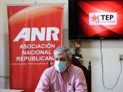 El senador y líder del movimiento Esperanza Republicana, Enrique Riera, solicitó la convocatoria de elecciones partidarias, juveniles y de mujeres al Partido Colorado.