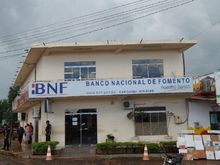 La Fiscalía Anticorrupción formuló una acusación contra ex gerentes y ex subgerentes de las sucursales del BNF en Santa Rosa del Aguaray y en Choré (San Pedro).