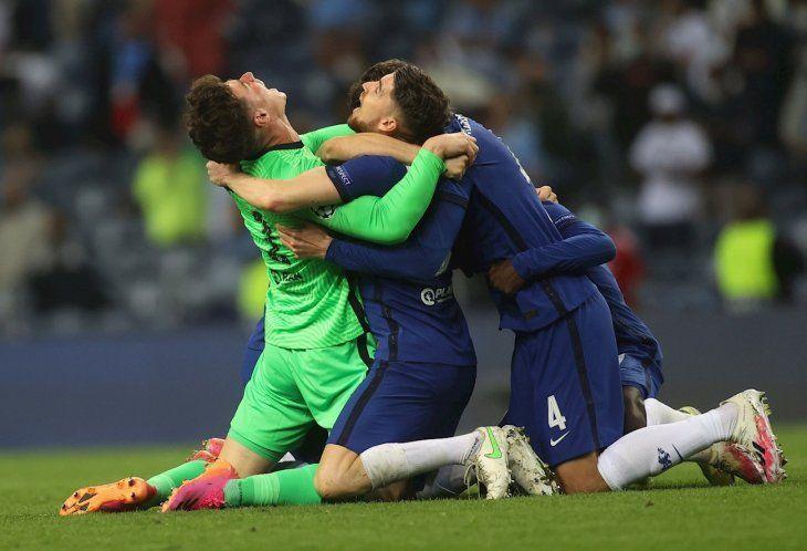 El Chelsea, campeón de la Champions League.
