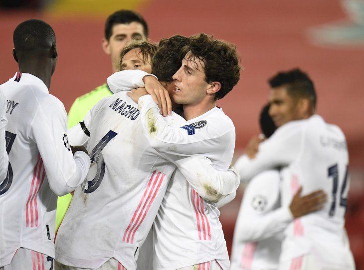 El Madrid se metió en semis.