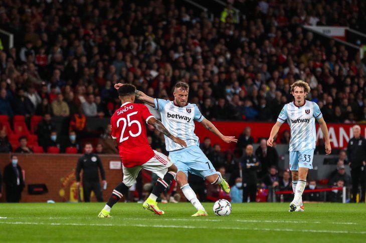 West Ham se impuso y eliminó al United.
