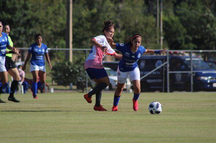 Sol de América goleó por 7-2 a San Lorenzo