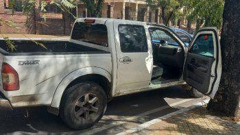 El hecho se registró alrededor de las 11.40 de este viernes, sobre la avenida Mariscal López casi Saturio Ríos de la ciudad de Asunción, luego de que las víctimas retiraran el dinero del Banco Continental.