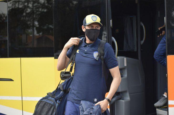 El entrenador de Luqueño