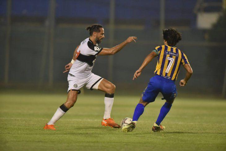 Sportivo Luqueño vs. Olimpia en el Feliciano Cáceres.