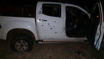 Acribillada. La patrullera de la Policía Nacional recibió una gran cantidad de proyectiles de grueso calibre en el ataque ocurrido ayer entre Concepción y Vallemí, con saldo de tres muertos.
