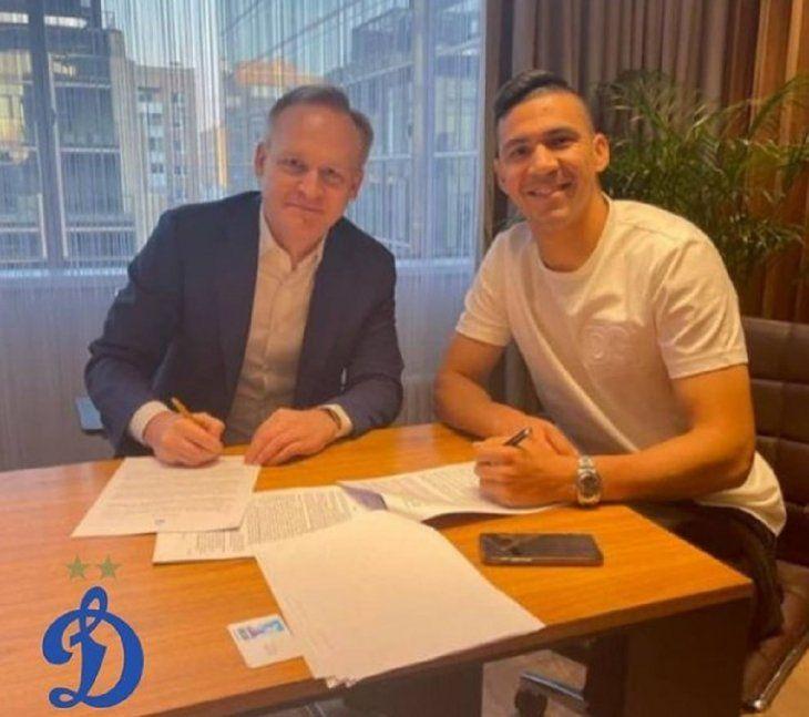 Fabián Balbuena firmó contrato por cuatro años con el club Dynamo Moscú de la Premier League de Rusia.
