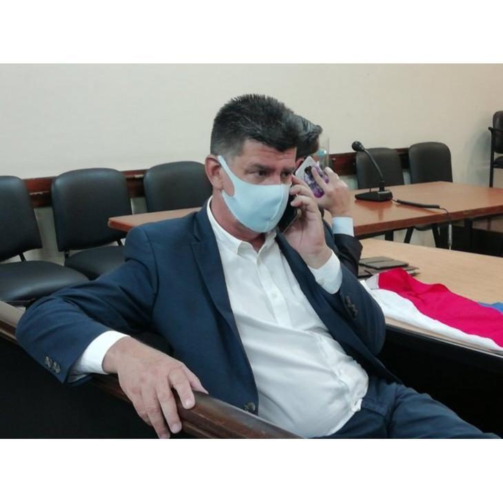 Efraín Alegre está procesado por un caso de presunta falsificación de facturas.