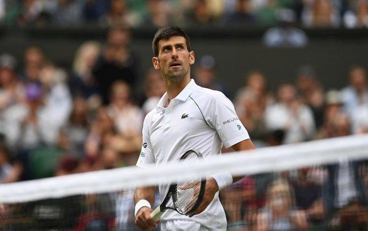 Novak Djokovic despachó al chileno Cristian Garín.