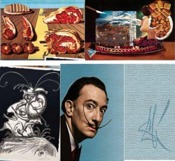 Salvador Dalí. Es conocido por su estilo ecléctico