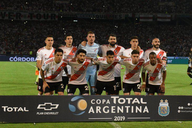 River Plate alcanzó este jueves la final de la Copa Argentina.