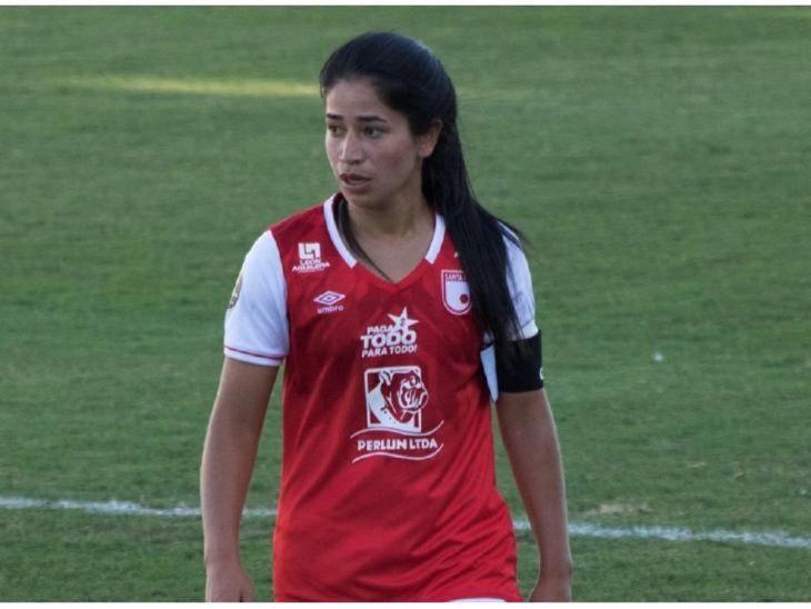 Citada. Fany Gauto juega en Independiente de Colombia.