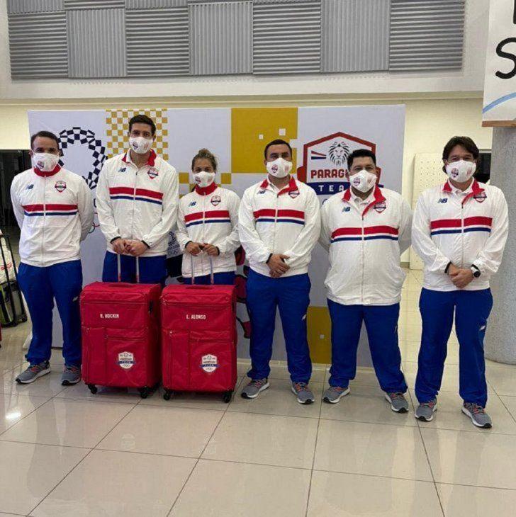 Destino Japón. Integrantes de la delegación de Paraguay.
