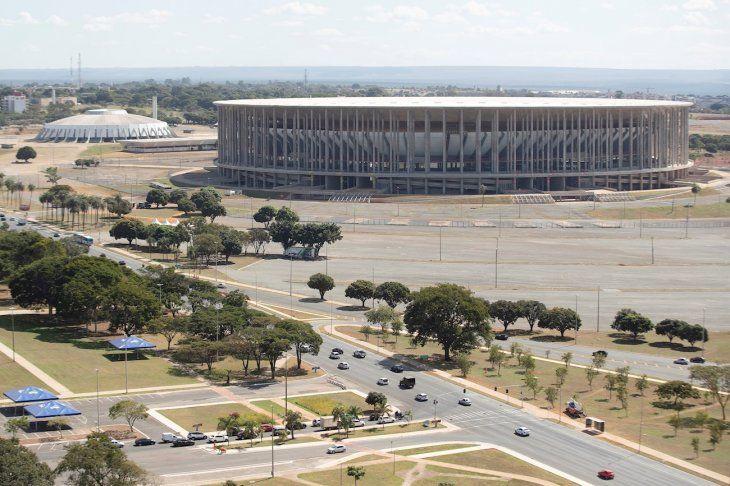 Vista exterior del estadio Mané Garrincha