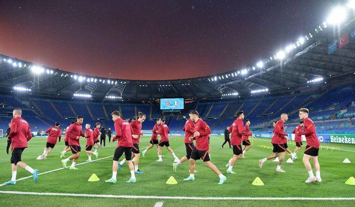 La Eurocopa se pone en marcha en Roma.