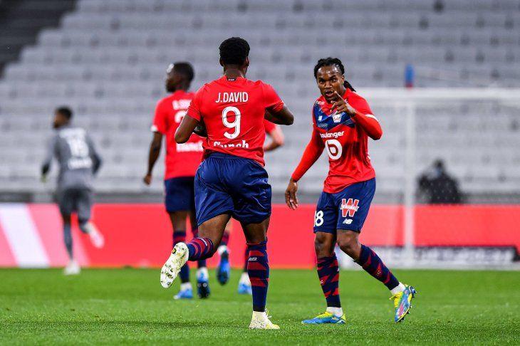 El Lille camina firme hacia el título de Francia.