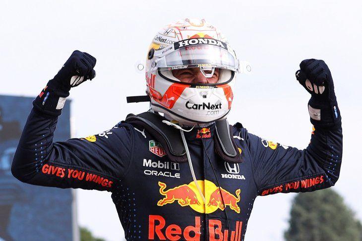 El neerlandés Max Verstappen (Red Bull) logró la victoria este domingo en el Gran Premio de la Emilia Romaña de Fórmula Uno