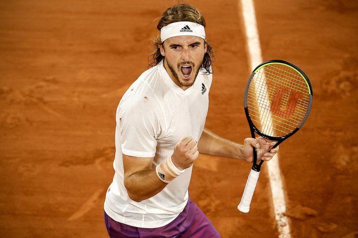 Stefanos Tsitsipas es el tenista que más partidos ha ganado en lo que va de temporada