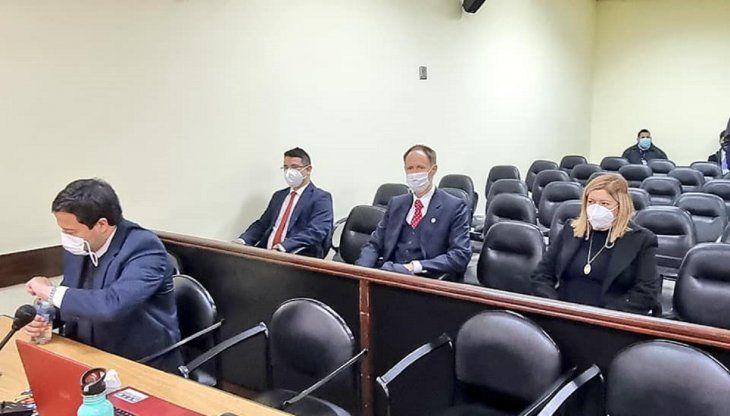 Quiñónez justifica su presencia en juicio de OGD, pero no habla sobre  presencia de diplomático