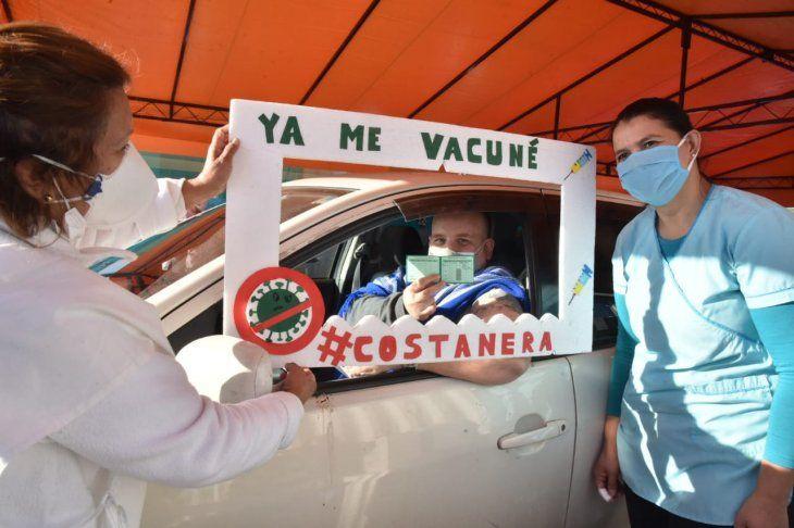 Nueva fase de vacunación contra el Covid-19 comenzó este sábado.