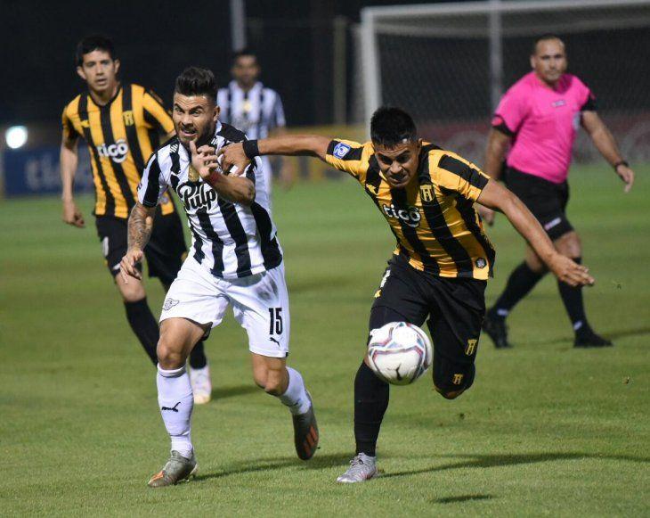 Guaraní y Libertad empataron en Dos Bocas.