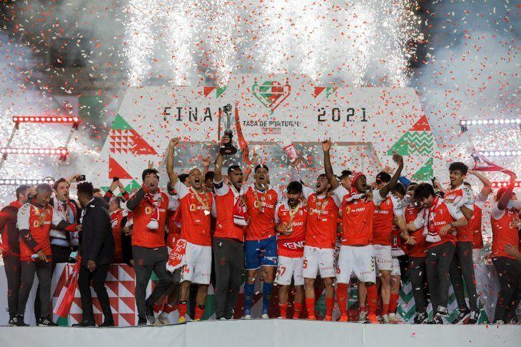 El Braga se consagró en la Copa.