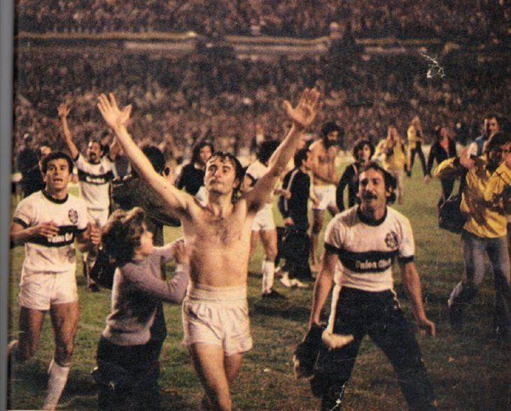 Olimpia campeón de la Copa Libertadores 1979.