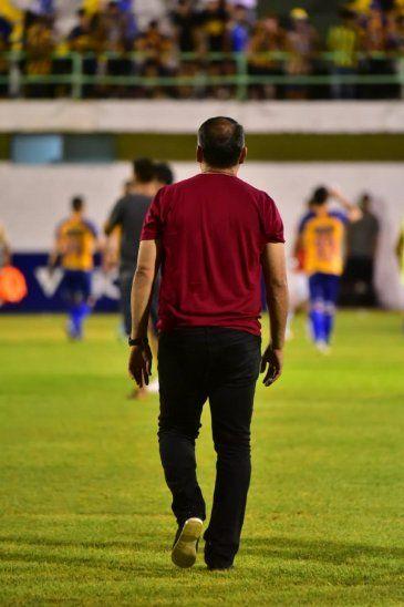 Sarabia ya no es técnico del Sportivo Luqueño.