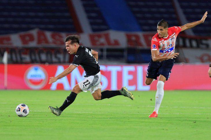 La revancha entre Libertad y Junior por Copa Sudamericana será este miércoles.