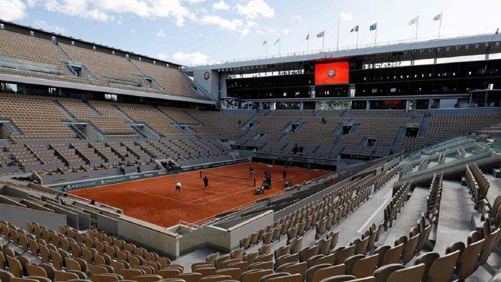 Roland Garros será con público este 2021.
