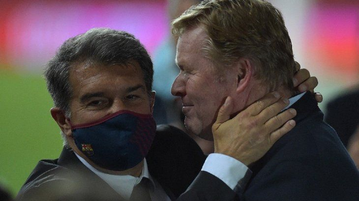 Confirman a Ronald Koeman como entrenador del Barcelona.