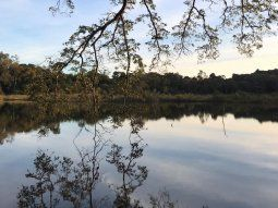 El predio cuenta con una declaración de interés científico cultural y  ambiental departamental, conforme con la Resolución 15/2018 de la Junta  departamental de Alto Paraná.