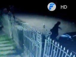 Las imágenes del circuito cerrado muestran la forma en que el piloto  Richard Leonardo Sosa, de 45 años, fue atacado a tiros en la noche del  pasado 18 de enero.