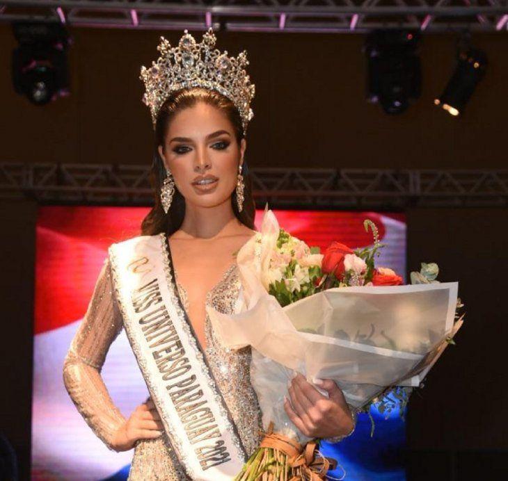 Nadia Ferreira es la nueva Miss Universo Paraguay 2021