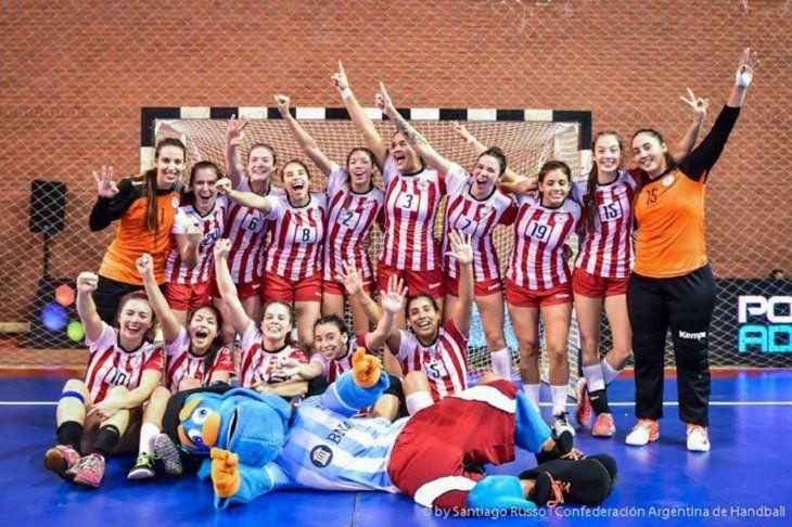 La últimas. Equipo paraguayo que logró bronce en 2017.