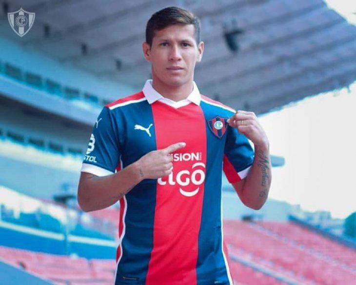 Rafael Carrascal es nuevo jugador de Cerro Porteño.