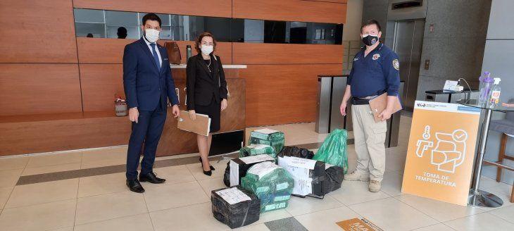 El Ministerio Público encabezó una serie de allanamientos en el marco de  una investigación al Consorcio Aerotech