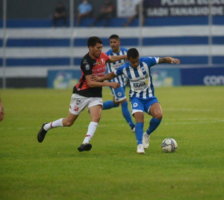 12 de Octubre y River Plate empataron en Itauguá.