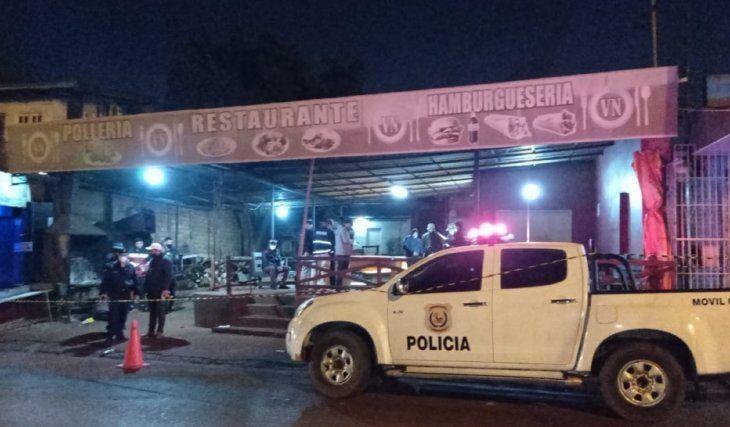 El hecho se registró en la medianoche del lunes en Ciudad del Este (Alto Paraná).