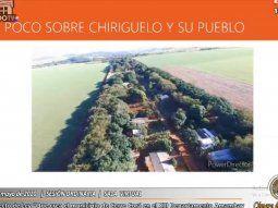 Imagen del poblado de la zona de Chirigüelo que formaría parte del municipio de Cerro Corá. El video fue exhibido por el senador Abel González, durante la sesión virtual de este jueves.