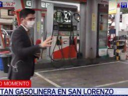 El hecho se registró a las 1.15 aproximadamente, sobre la calle Doctor Gabriel Pellón casi Pedro Juan Aponte, del barrio Virgen de los Remedios, en la ciudad de San Lorenzo.