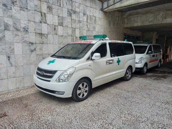 DONACIONES. Nada menos que seis ambulancias fueron donadas por los investigados por el caso de las facturas falsas. Además